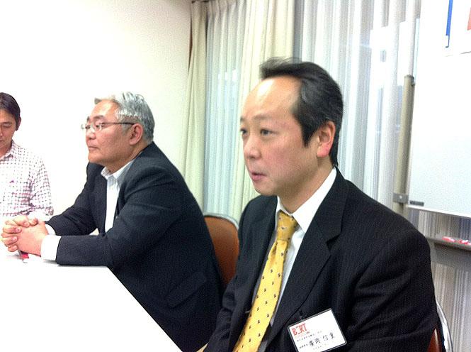廣岡 副理事長 BERT会議