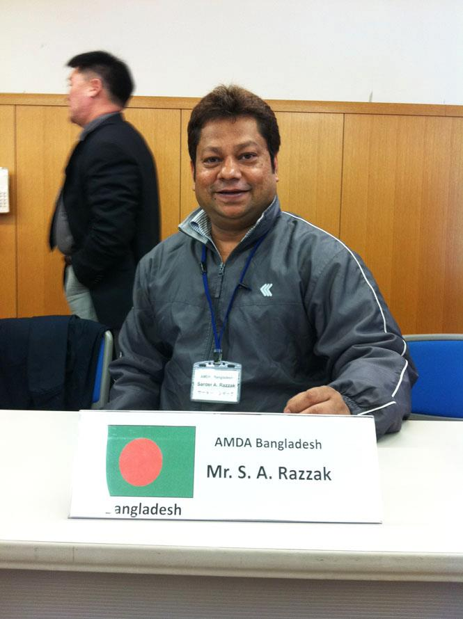 Mr.S.A.Razzak AMDA 12 Asia Medical Network
