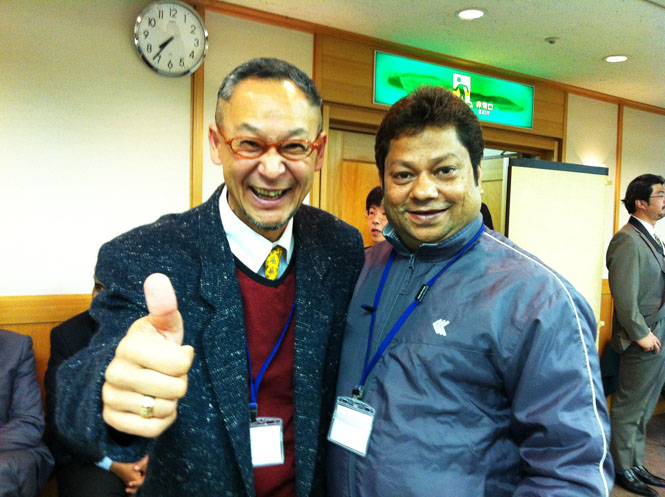 Mr.T.Katayama & Mr.S.A.Razzak AMDA 12 Asia Medical Network