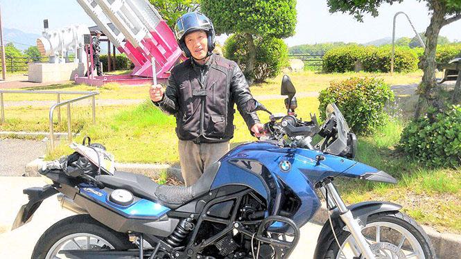 しまなみ海道で出会ったBMWライダーとバトンリレー