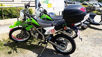 《 カワサキの支援バイク 》_mini