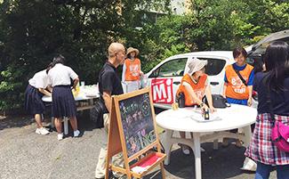 《 矢掛中学の女子生徒がボランティア参加! 》_mini