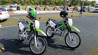 《 支援バイクの贈呈式 》_mini