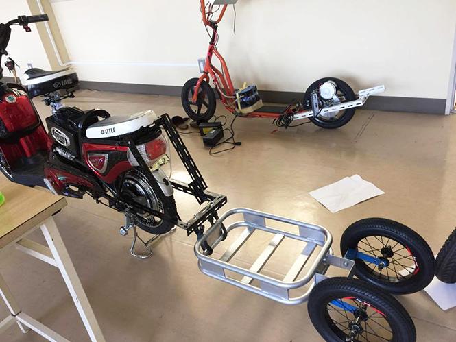 《 災害支援バイクの製作 》_05