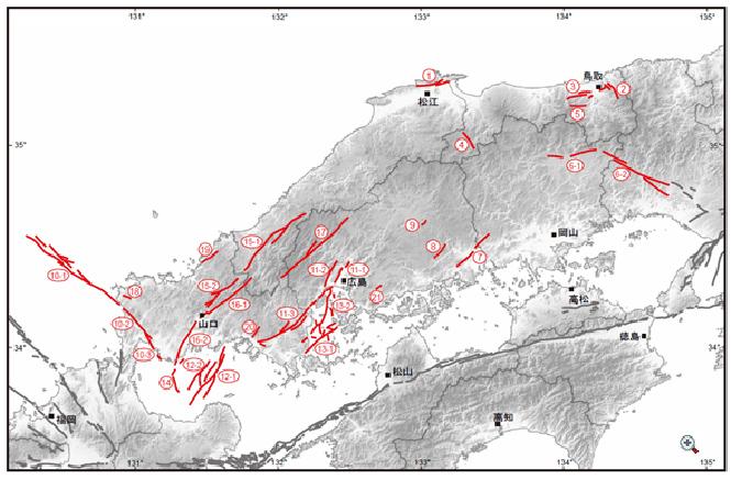 《中国地域の活断層の地域評価》_02